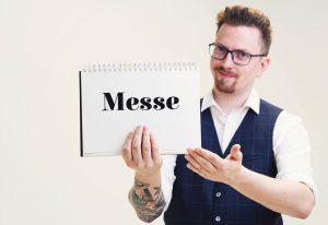 Messezauberer Axel Adams zaubert für Ihre Firma